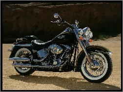 Silnik, Harley Davidson Softail Fat Boy, Chrom