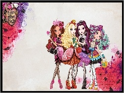 Madeline Hatter, Briar Beauty, Apple White, Raven Queen