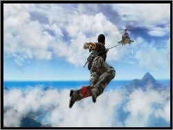 Helikopter, Just Cause 2, Chmury