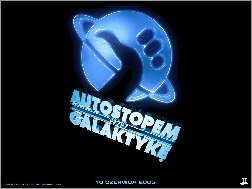 logo, Hitchhikers Guide To The Galaxy, tytuł