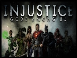 Injustice God Among Us, Postacie
