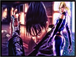Jin Kazama, Tekken 6, Nina Williams