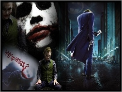 Joker, Batman Dark Knight, Heath Ledger