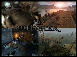 katakumby, komnata, The Witcher, droga