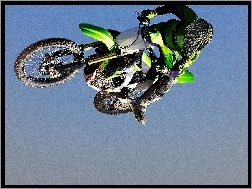 Kawasaki KX450F Monster Energy, Skok