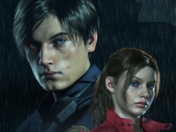 Claire Redfield, Resident Evil 2, Gra, Leon S Kennedy