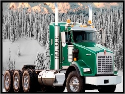 Zielony, Kenworth K800