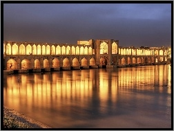 Iran, Khaju, Bridge