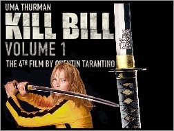 Kill Bill 1, Uma Thurman, Miecz