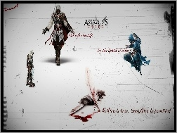 Krew, Assassins Creed, Sztylet