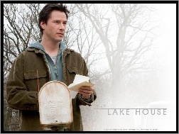 drzewa, list, Keanu Reeves, The Lake House, mgła
