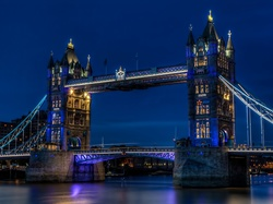 Londyn, Most, Tower Bridge