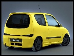 Look, Tuning, Fiat Seicento, Bad