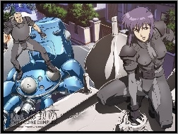 ludzi, Ghost In The Shell, roboty