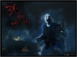 wilkołak, łysy, 30 Days Of Night, chłopak