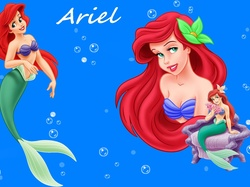 Ariel, Mała Syrenka, Bajka, The Little Mermaid