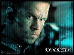 mikrofon, Mark Wahlberg, Shooter, twarz