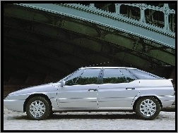 Most, Lewy, Citroen XM, Bok