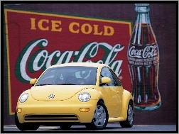 New Beetle, Coca-Cola
