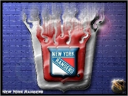 New York Rangers, Drużyny, Logo, NHL