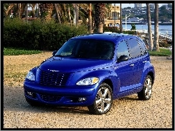 Niebieski, Chrysler PT Cruiser Turbo GT