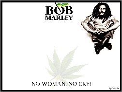 No Cry, Bob Marley, No Woman