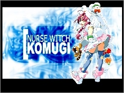 Nurse Witch Komugi, osoba, pluszak