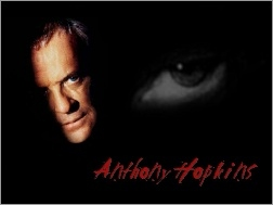 oko, Anthony Hopkins, twarz