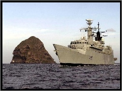 HMS SHEFFIELD F96, Fregata, Royal Navy