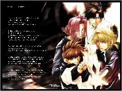 open mind, Saiyuki, text