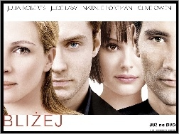 Julia Roberts, Natalie Portman, Jude Law, Closer, Clive Owen