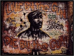 2 Pac, Graffiti
