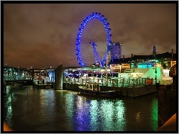 Panorama, london Eye, Londyn