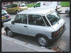 Parking, Bok, Lewy, Autobianchi A112