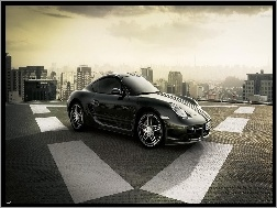Parking, Porsche 911 Turbo, Dach