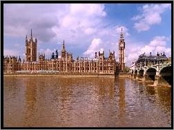 Anglia, Parlament, Most
