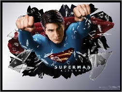 pięści, Brandon Routh, Superman Returns, szkło