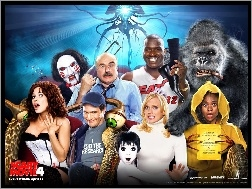 postacie, King Kong, Anna Faris, Scary Movie 4, Piła