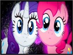 Pinkie Pie, My Little Pony, Rarity