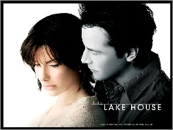 przytuleni, Sandra Bullock, Keanu Reeves, The Lake House, plakat