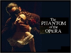 Phantom Of The Opera, Emmy Rossum, Gerard Butler, pocałunek