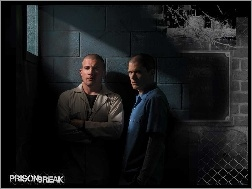 Dominic Purcell, Prison Break, cela, Wentworth Miller