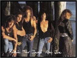 Tom , Richie , Alen, David, Bon Jovi, Tico