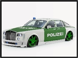 Rolls-Royce Phantom, Polizei