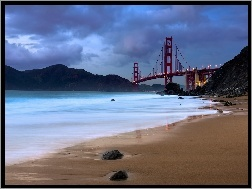San Francisco, Most Golden Gate, Zatoka
