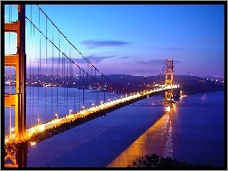 San Francisco, Golden, Most, Gate