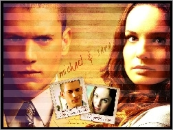 krawat, Sarah Wayne Callies, Prison Break, Wentworth Miller