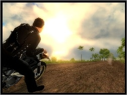 Screen, Jazda, Just Cause 1, Motocyklem