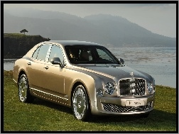 Sedan, Złoty, Bentley Mulsanne