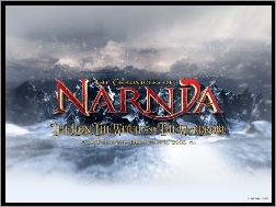 napis, śnieg, The Chronicles Of Narnia, góry